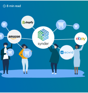 e-commerce integration with Amazon, eBay, Shopify
