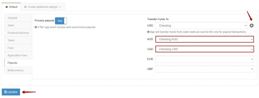 Xero multicurrency payouts