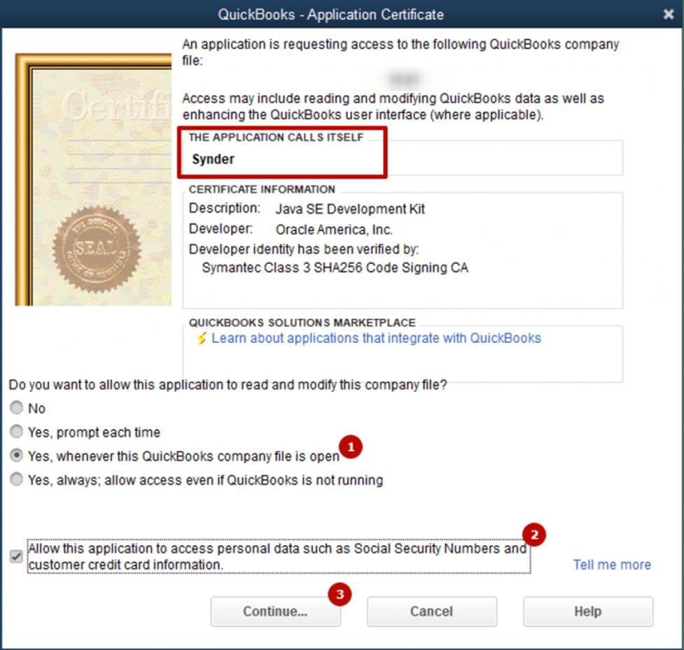 QuickBooks Desktop Certificate