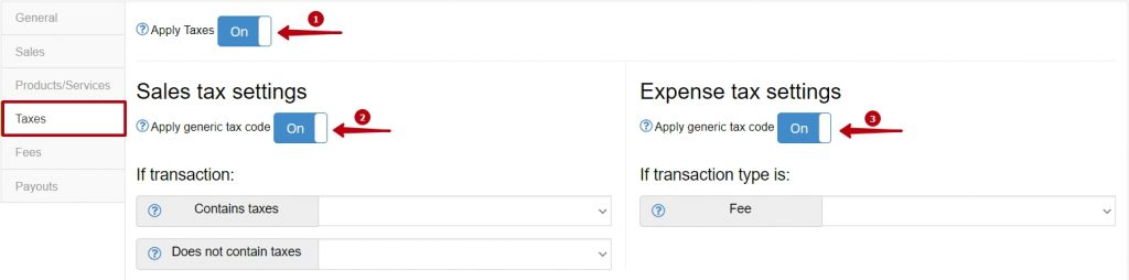 if enable this feature, then taxes from your Pin Payments account will be properly reflected (as taxes) in your Xero.