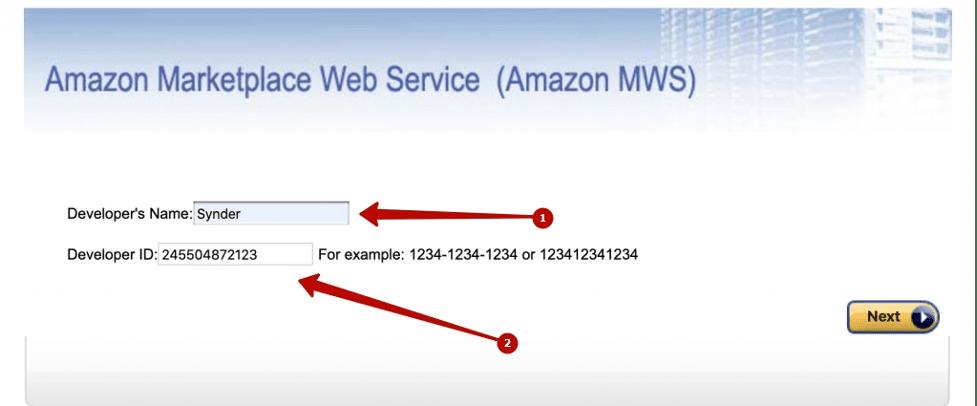 Authorise Synder Amazon integration