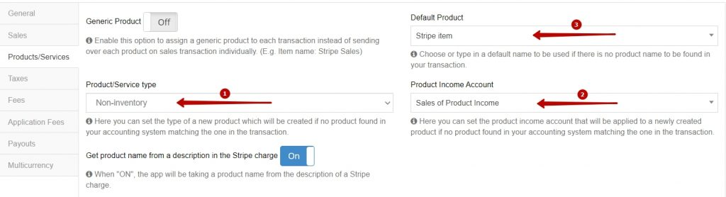 seamlessly creating products/services in your QuickBooks