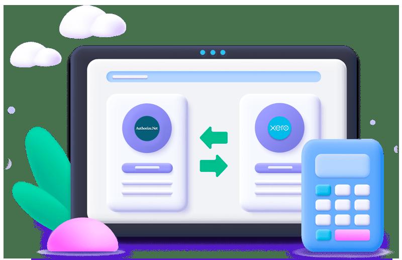 Sync authorize.net with xero
