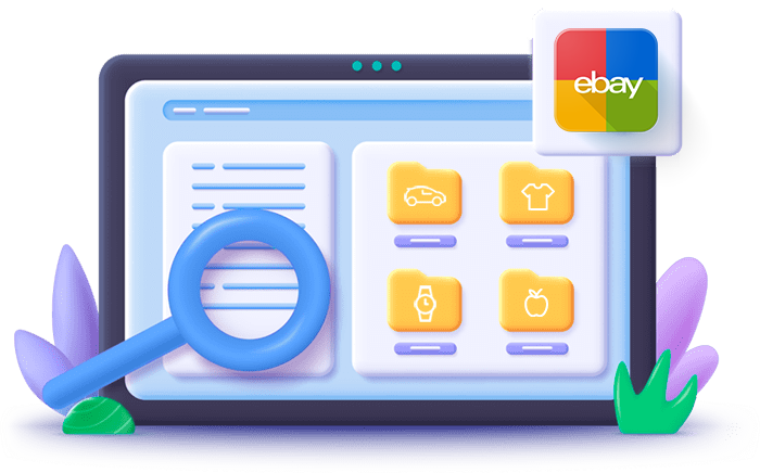 Categorize eBay payments